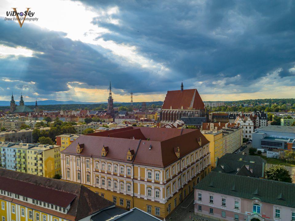 Muzeum w Nysie zdjęcie z drona_Vidrosky