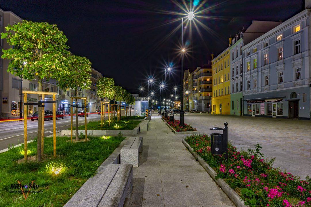 Zdjęcie wyremontowanej ul. Piastowskiej w Nysie_Vidrosky