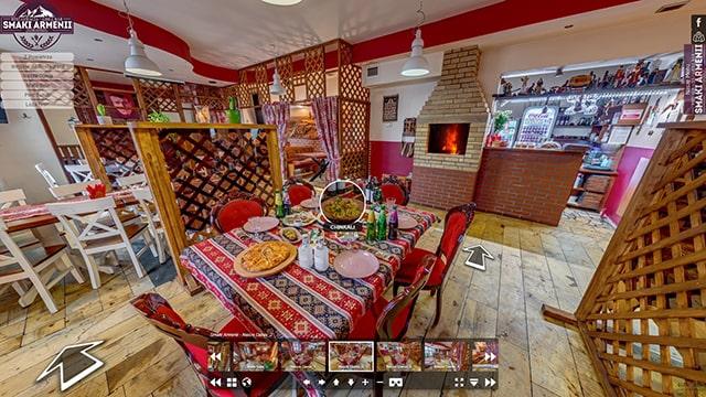 Wirtualny Spacer po Restauracji Smaki Armenii