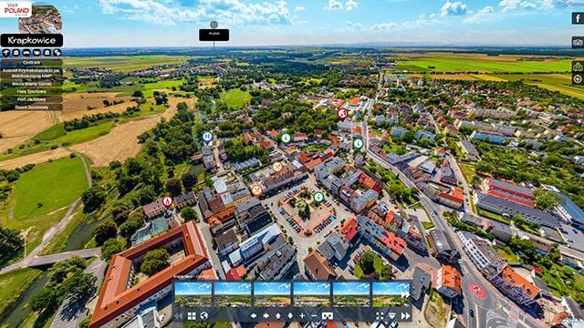 Wirtualny Spacer po mieście Krapkowice